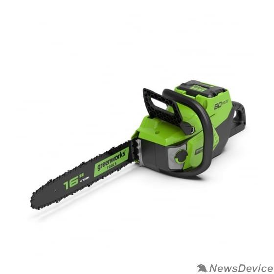Пилы Greenworks Цепная пила аккумуляторная GreenWorks GD60CS40, 60V, 40 см, бесщеточная, без АКБ и ЗУ 2006907