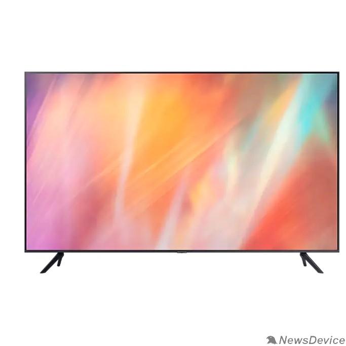 "Телевизор Samsung 55"" UE55AU7100UXRU титан Ultra HD/60Hz/DVB-T2/DVB-C/DVB-S2/USB/WiFi/Smart TV (RUS)"