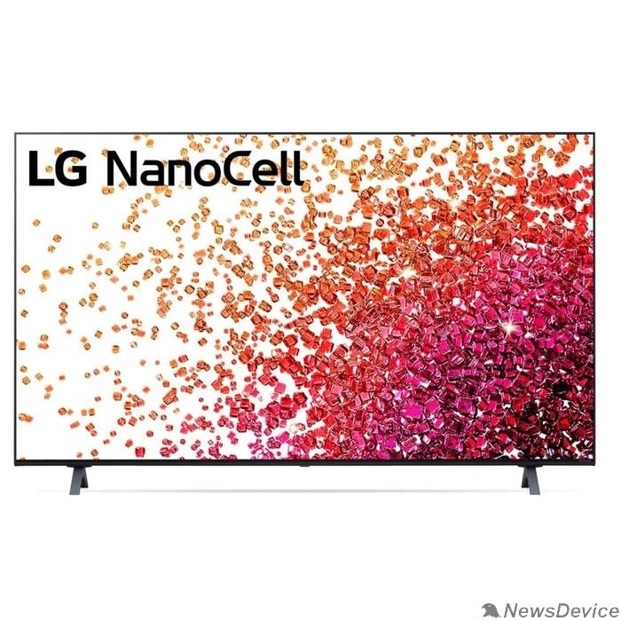 """Телевизор LG 50"""" 50NANO756PA NanoCell черный Ultra HD/50Hz/DVB-T/DVB-T2/DVB-C/DVB-S/DVB-S2/USB/WiFi/Smart TV (RUS)"""