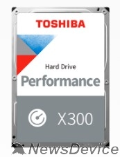 "Жесткий диск 8TB Toshiba X300 (HDWR480UZSVA) SATA 6.0Gb/s, 7200 rpm, 256Mb buffer, 3.5"""