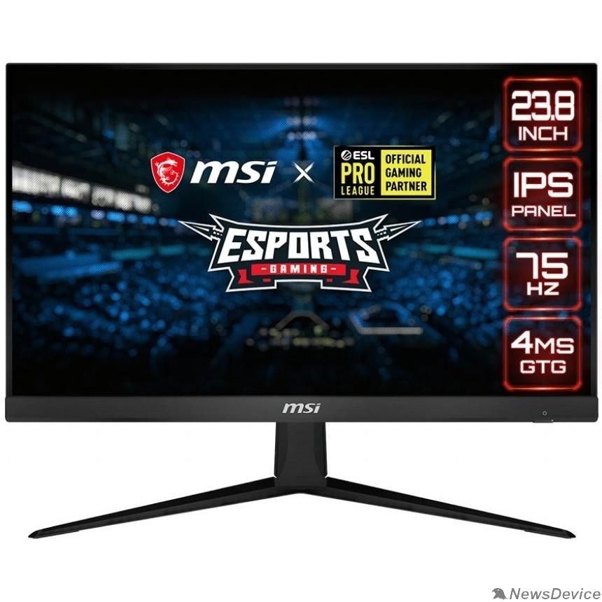 "Монитор MSI 23.8"" Optix G241V E2 черный 1920x1080 (матовый))/flat/IPS Level/1x DP/1x HDMI/75Hz/1ms 9S6-3BA71T-022"