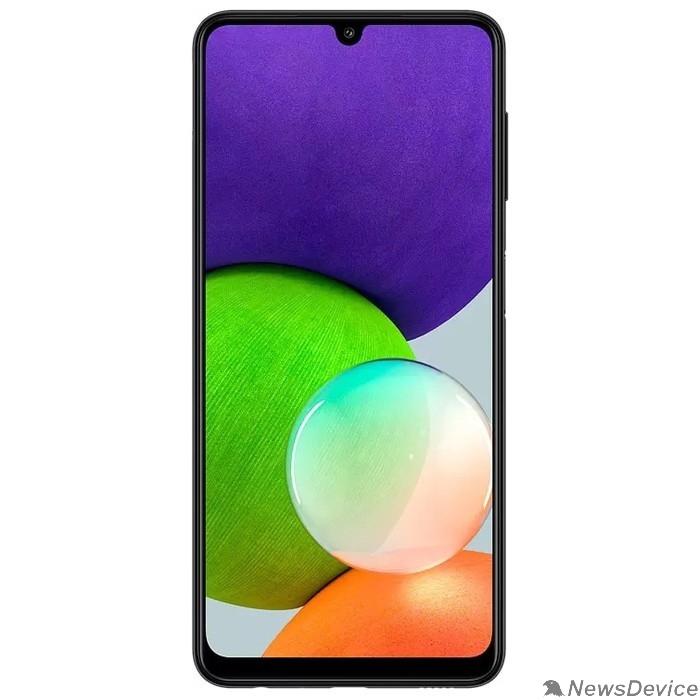 Мобильный телефон Samsung SM-A225F Galaxy A22 128Gb 4Gb черный моноблок (SM-A225FZKGSER)