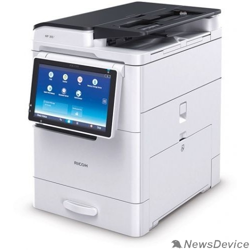 Принтер Ricoh MP 305+ SPF МФУ A4/A3 (копир/принтер/сканер/afrc) + автоподатчик. Сетевое подключение, авто дуплекс. . Диск с драйверами и ПО, кабель питания входя Ricoh (417435)