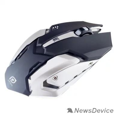 """Клавиатуры, мыши Perfeo мышь оптическая """"SHOOTER"""", 6 кн, USB, чёрн, GAME DESIGN, подсветка 6 цвет PF_5020"""