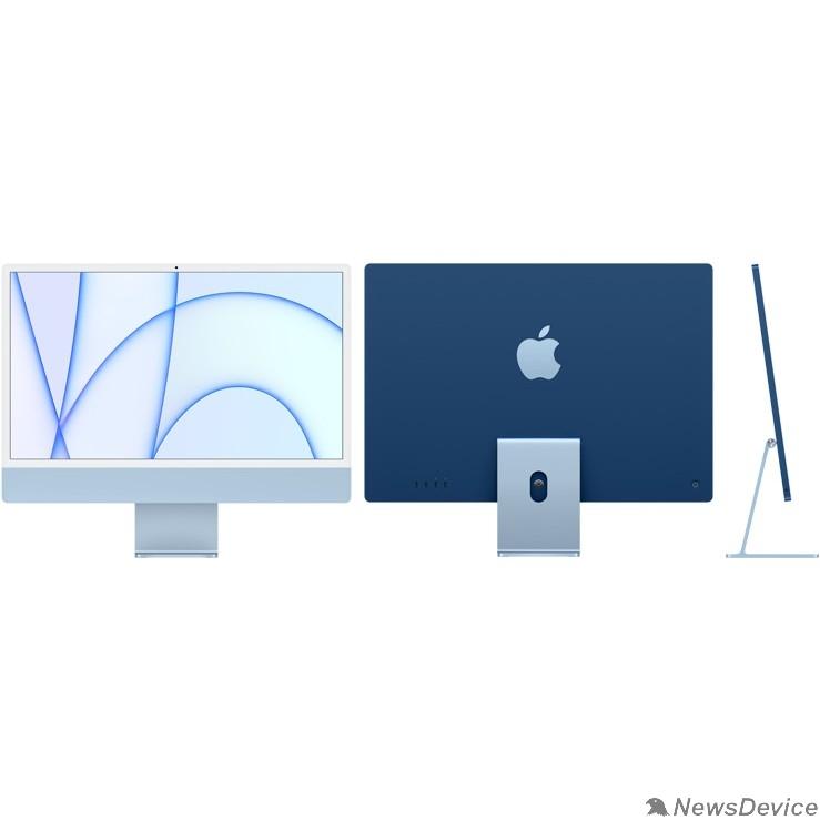"""Моноблок Apple iMac MGPL3RU/A Blue 24"""" Retina 4.5K Apple M1 chip with 8-core CPU and 8-core GPU/8GB/512GB SSD/LAN (2021)"""