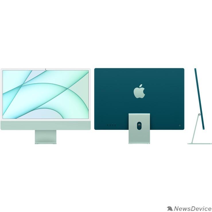 "Моноблок Apple iMac Z12V000AS, Z12V/3 Green 24"" Retina 4.5K M1 chip with 8 core CPU and 8 core/16GB/512GB SSD/LAN (2021)"