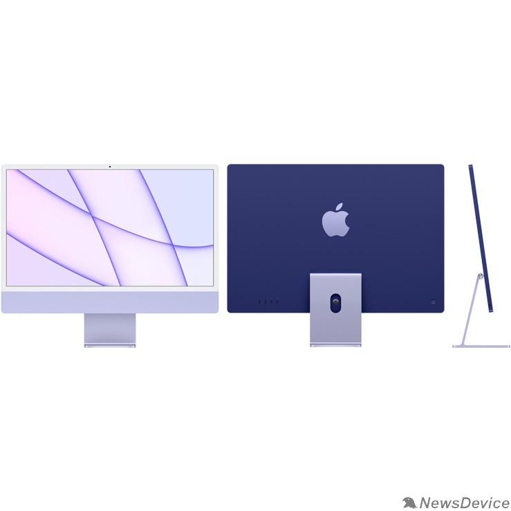 """Моноблок Apple iMac Z131000AS Purple 24"""" Retina 4.5K M1 chip with 8 core CPU and 8 core/16GB/512GB SSD/LAN (2021)"""