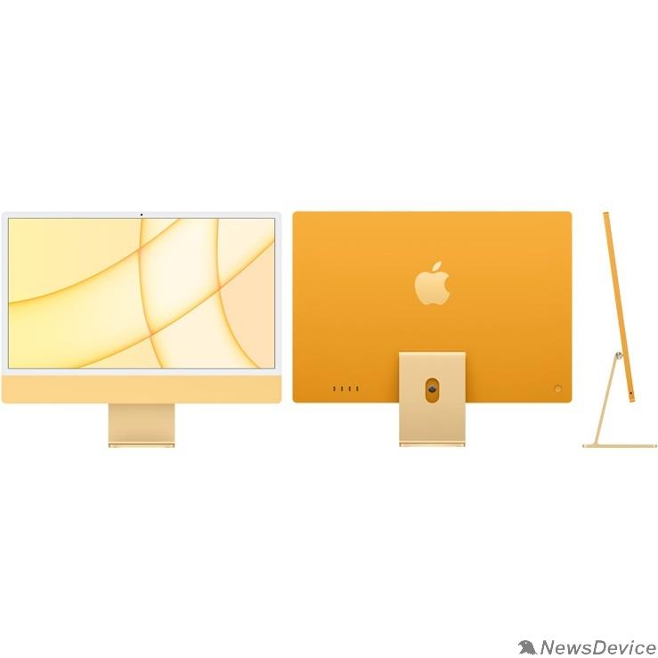 "Моноблок Apple iMac Z12T000PD, Z12T/4 with Numeric Keypad Yellow 24"" Retina 4.5K M1 chip with 8 core CPU and 8 core/16GB/1TB SSD/LAN/with Numeric Keypad (2021)"