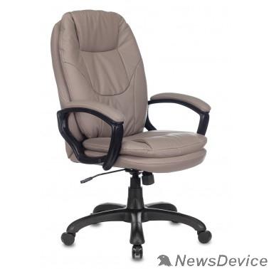 Офисное кресло или стул Кресло руководителя Бюрократ CH-868N серый искусственная кожа крестовина пластик 1535022