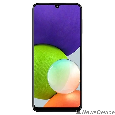 Мобильный телефон Samsung SM-A225F Galaxy A22 128Gb 4Gb белый моноблок (SM-A225FZWGSER)