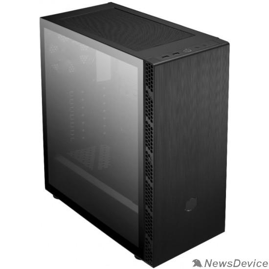 Корпус Cooler Master MasterBox MB600L V2 MB600L2-KGNN-S00 w/ODD, 2xUSB3.0, 1x120Fan, w/o PSU, Black, w/GanMetal Trims