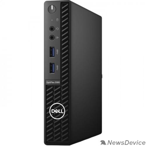 Компьютер DELL Optiplex 3080 3080-9858 Micro i3-10105T/4Gb/128Gb SSD/Linux/k+m