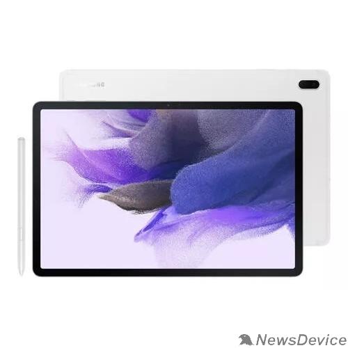 """Планшетный компьютер Samsung Galaxy Tab S7 FE SM-T735 Snapdragon 750G (2.2) 6Gb/128Gb 12.4"""" серебро SM-T735NZSESER"""