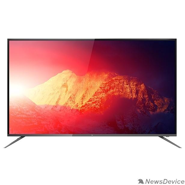 """LCD, LED телевизоры BQ BQ 65SU11B 65"""", 165,10 см, UHD(3840*2160), 300 cd/m2 ±10%, 4000:1, DVB-C/T/T2/S2, 3 HDMI, 2 USB, звук 2х8 Вт, Smart TV"""