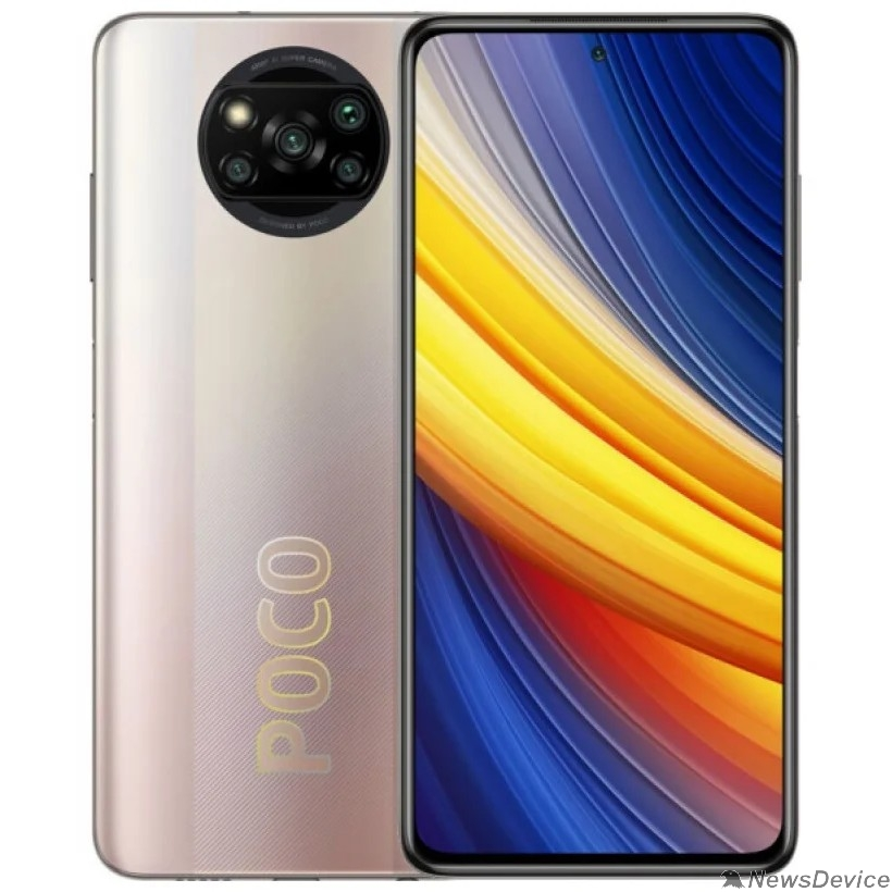 Смартфон/акссесуар Xiaomi POCO X3 Pro 6/128GB Metal Bronze