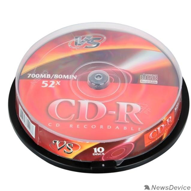 Диск Диски VS CD-R 80 52x CB/10