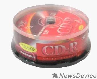 Диск Диски VS CD-R 80 52x CB/10 Ink Print