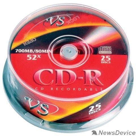 Диск Диски VS CD-R 80 52x CB/25 Ink Print