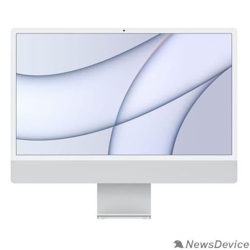"""Моноблок Apple iMac Z12R000AS, Z12R/3 Silver 24"""" Retina 4.5K Apple M1 chip with 8-core CPU and 8-core GPU/16GB/512GB SSD/LAN (2021)"""