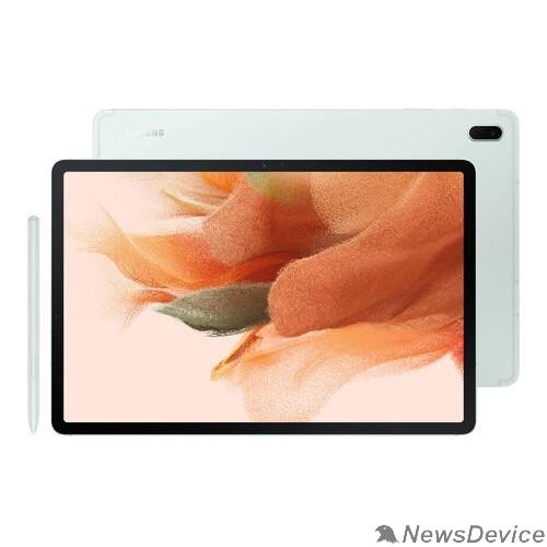 """Планшетный компьютер Samsung Galaxy Tab S7 FE SM-T735 Snapdragon 750G (2.2)6Gb/128Gb 12.4"""" зеленый SM-T735NLGESER"""