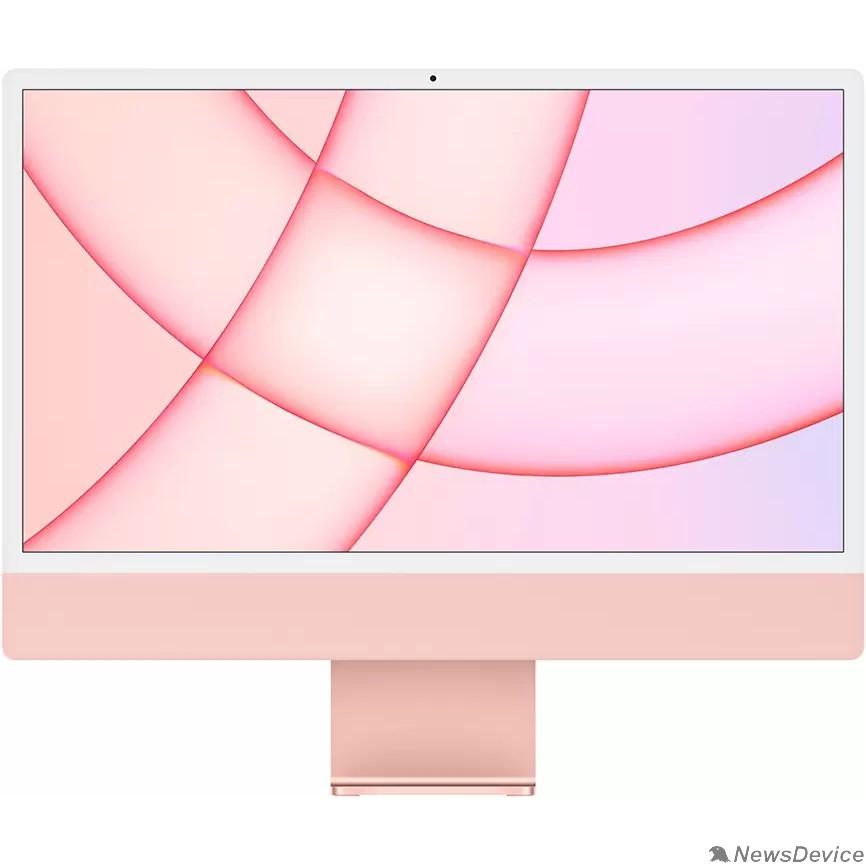 "Моноблок Apple iMac MGPN3RU/A Pink 24"" Retina 4.5K M1 chip with 8 core CPU and 8 core/8GB/512GB SSD/LAN (2021)"