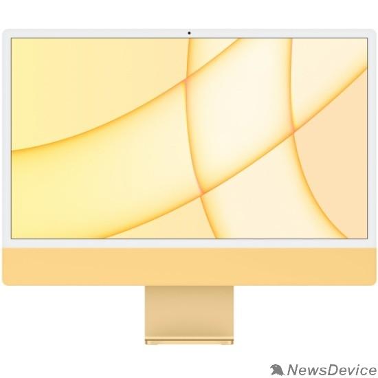 "Моноблок Apple iMac Z12T000AK, Z12T/1 Yellow 24"" Retina 4.5K M1 chip with 8 core CPU and 8 core/8GB/1TB SSD/LAN (2021)"