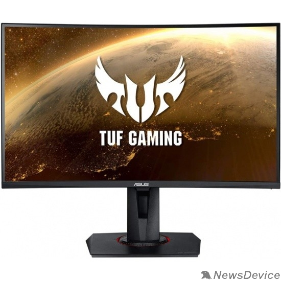 "Монитор ASUS LCD 27"" VG27WQ TUF Gaming VA 2560x1440 165Hz 1ms 178/178 400cd 3000:1 8bit DisplayHDR400 HDMI2.0 DisplayPort1.2 FreeSync AudioOut 2x2W VESA 90LM05F0-B01E70"