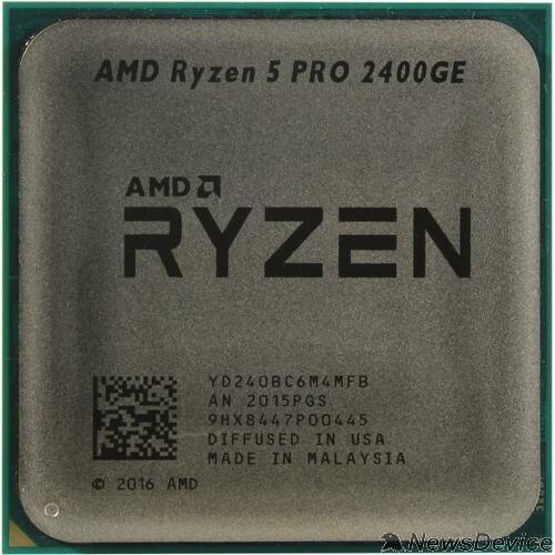 Процессор CPU AMD Ryzen 5 PRO 2400G OEM