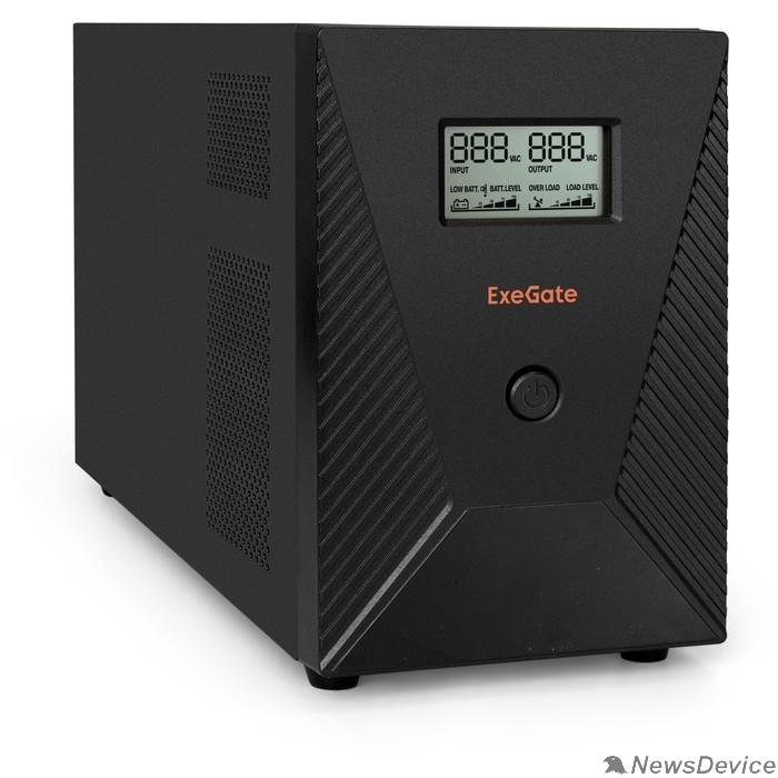 ИБП EP287660RUS ИБП ExeGate SpecialPro Smart LLB-3000.LCD.AVR.EURO.RJ.USB <3000VA/1800W, LCD, AVR,4евро,RJ45/11,USB>