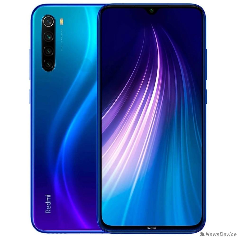 Смартфон/акссесуар Xiaomi Redmi Note 8 (2021) 4/64 Neptune Blue