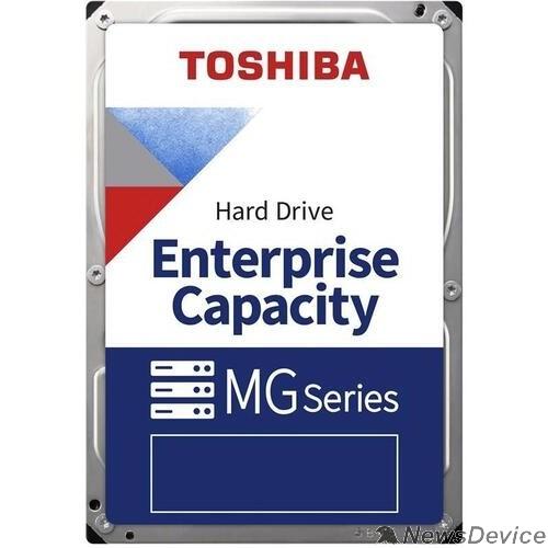 "Жесткий диск 8TB Toshiba HDD Serve (MG08ADA800E) SATA-III, 7200 rpm, 256Mb buffer, 3.5"" analog MG06ACA800E"