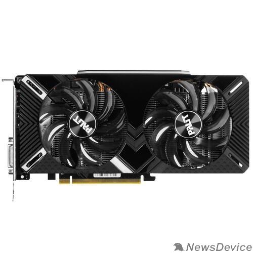 Видеокарта Видеокарта PCIE16 GTX1660TI 6GB GDDR6 PA-GTX1660TI DUAL 6G  NE6166T018J9-1160C RTL