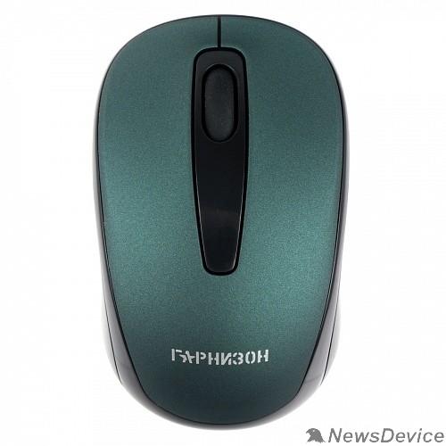 Клавиатуры, мыши Гарнизон Мышь беспров.GMW-450-2, чип X4, зеленый, 1000 DPI, 2 кн.+ колесо-кнопка
