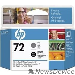 Расходные материалы HP C9380A Печатающая головка №72, Grey DJ T610/T620/T770/T1100/T1120/T1200, Grey