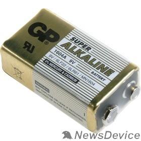 Батарейки  GP 1604A-5S1 10/50/500 Super (1 шт. в уп-ке) крона