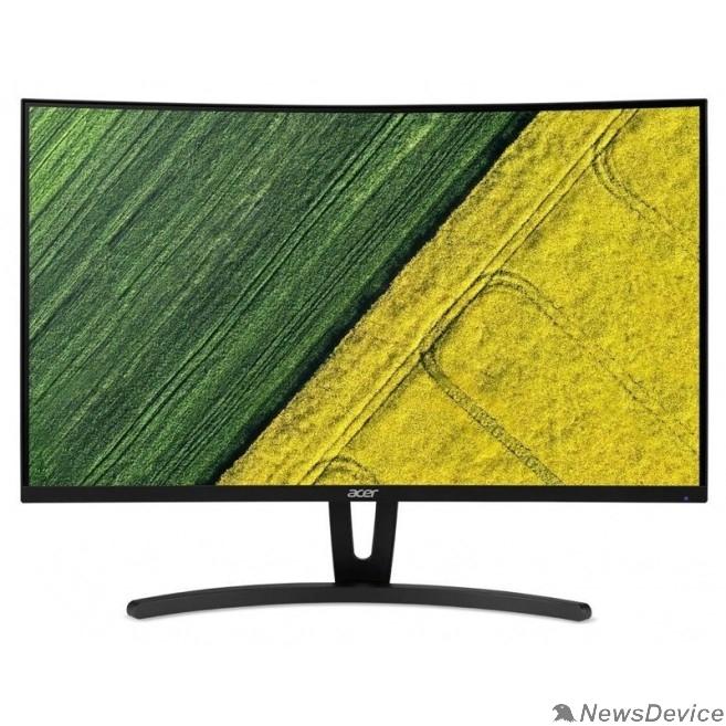 "Монитор LCD Acer 27"" ED273UAbmiipx VA 1560x1440 Curved 75hz 1ms 178/178 250cd 8bit(6bit+FRC) 2xHDMI1.4 DisplayPort1.2 AdaptiveSync 2x2W VESAUM.HE3EE.A07"