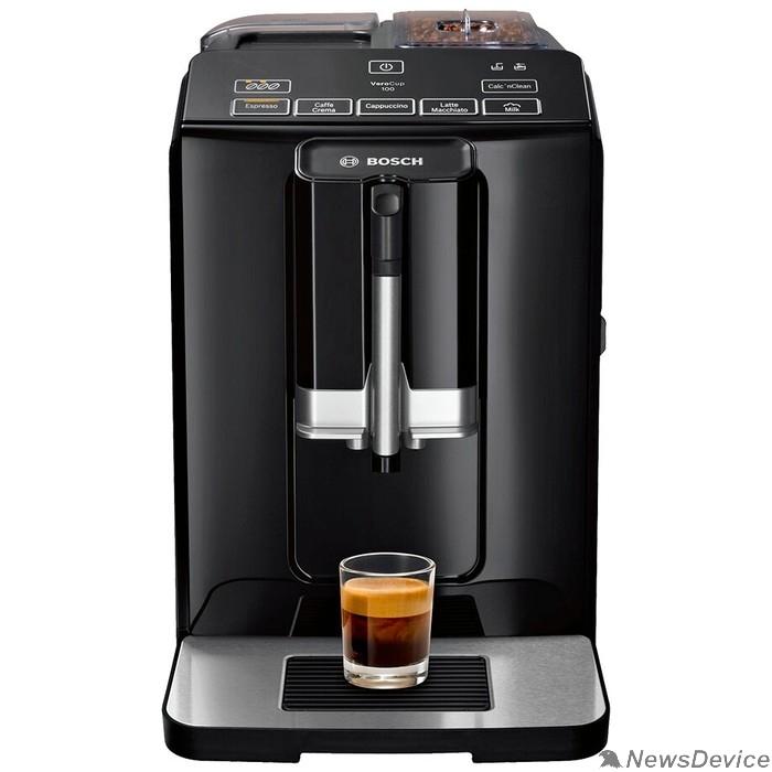 Кофеварка BOSCH TIS30129RW Кофемашина ,1300 Вт, черный