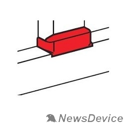 LEGRAND Кабель-каналы, аксессуары Legrand 010735 Отвод плоский на кабель-канал шириной 80 мм - для односекционных кабель-каналов DLP 35х80/105, 50х80/150 - белый