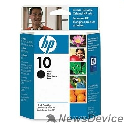 Расходные материалы HP C4844AE Картридж №10, Black DJ 2000c/2500c/2200/2250/DJ 500/ps/800/ps, Black (69ml)