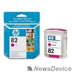 Расходные материалы HP C4912A Картридж №82, Magenta DesignJet 500/800, Magenta (69 ml)