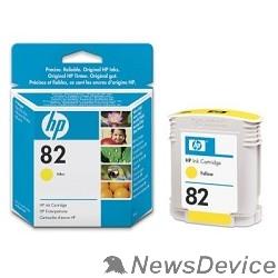 Расходные материалы HP C4913A Картридж №82, Yellow DesignJet 500/800, Yellow (69 ml)