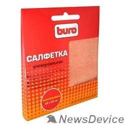 Чистящие средства Микрофибра BURO BU-MF, 25 х 25 см, универсальная, для очистки экранов любого типа, пластиковых поверхностей  817427