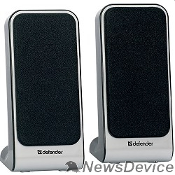 Колонки Defender SPK 220/225 2.0, 2 х 2W, USB пит, разъем для наушников 65220
