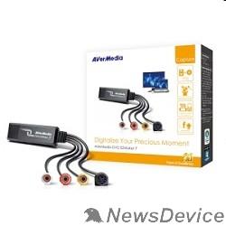 Тюнер AverMedia DVD EZMaker 7 USB2.0 Устройство видеозахвата USB2.0 (Model C039)