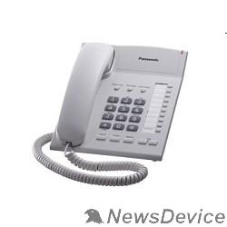 Телефон Panasonic KX-TS2382RUW (белый) индикатор вызова,повторный набор последнего номера,4 уровня громкости звонка
