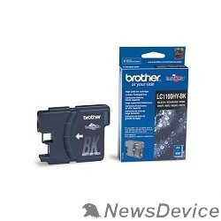 Расходные материалы Brother LC-1100HYBK Картридж ,Black DCP-6690CW/MFC-5890CN/6490CW/6890CDW,Black, (900 стр.)(LC1100HYBK)