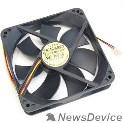 Вентилятор Gembird Вентилятор для корпуса 120x120x25mm, sleeve, узкий разъем 3pin FANCASE3