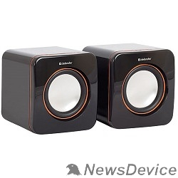 Колонки Defender SPK-530 черный 2.0, 2x2W USB 65530