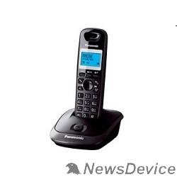 Телефон Panasonic KX-TG2511RUT (титан) АОН, Caller ID,спикерфон на трубке,переход в Эко режим одним нажатием