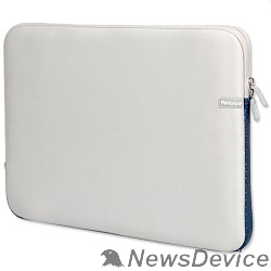 Сумка для ноутбука PORTCASE KNP-18GR Чехол для ноутбука   неопрен, серый, 17-18,4''